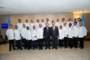 <h5>Official picture with Ban Ki-moon</h5>