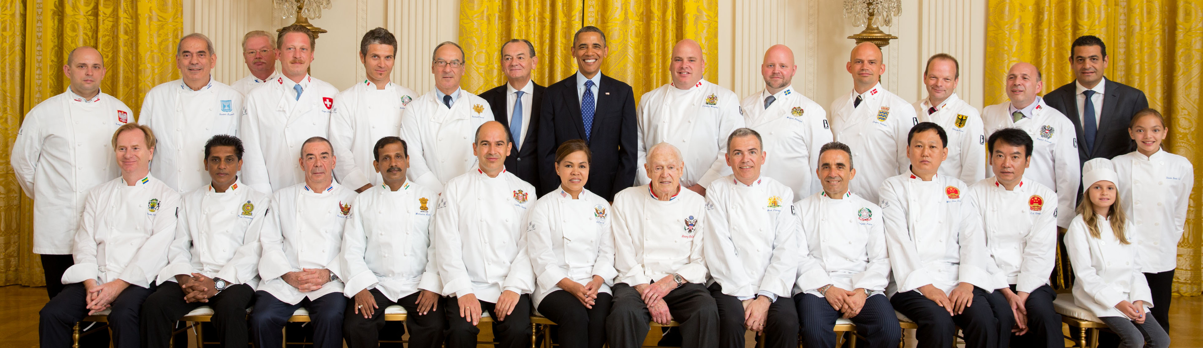 The Club des Chefs des Chefs at the White House in 2013